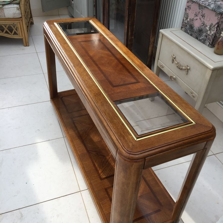 Beautiful Vintage hall side table from Peppershells vintage