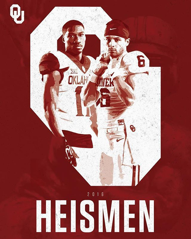 Win or lose, we'll take our two over anyone. Thanks @baker_mayfield & @dwestbrook11ou for a memorable run. #We2Deep
