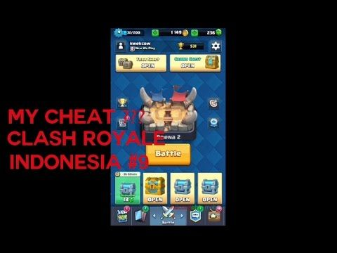 My cheat??? - Clash Royale Indonesia #9