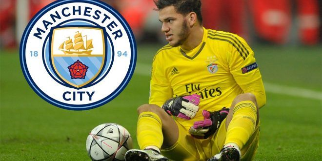 Kiper Ederson Moraes Resmi Gabung Ke Manchester City
