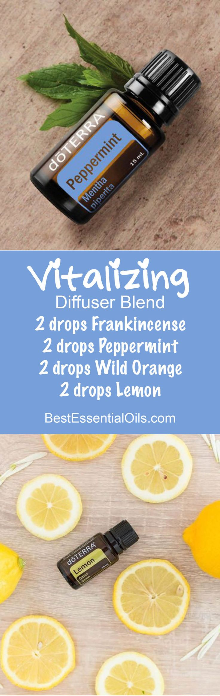 Vitalizing Essential Oils Diffuser Blend ••• Buy dōTERRA essential oils online at www.mydoterra.com/suzysholar, or contact me suzy.sholar@gmail.com for more info.