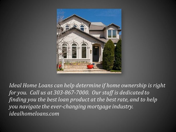 49 best Ideal Home Loans images on Pinterest | Mortgage companies, Mortgage rates and Denver