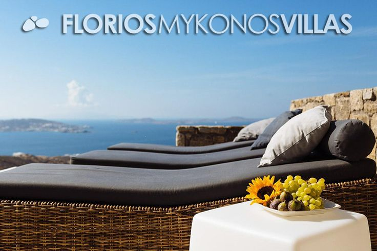 """It is very close to popular beaches and bars, where you can enjoy the vivid night-life of the island. This villa is FMV1227′ s """"sister"""". They could be rent as a whole, as well.  FMV1217 New built, elegant Villa for Rent on Mykonos island Greece. http://florios-mykonos-villas.com/property/fmv1217-2/"""