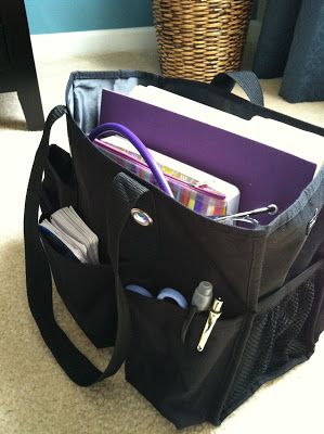 Nursing Student and Beyond!: Take a peek inside my clinicals bag!