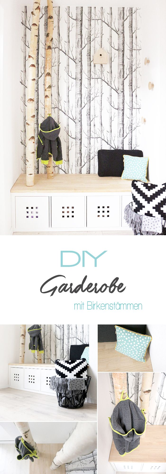 die besten 25 garderobe selber bauen ideen auf pinterest. Black Bedroom Furniture Sets. Home Design Ideas