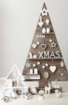 9 alternative Christmas tree ideas - French By Design