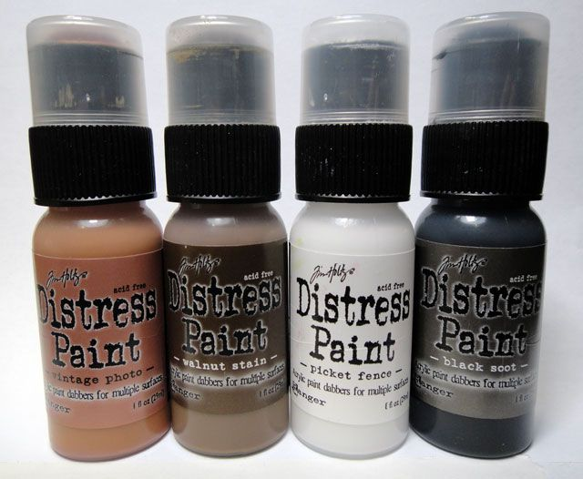 Ranger - TH - Distress Paints (interested to see how they play with Stains)