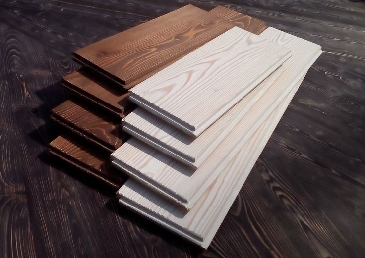 Изделия с шипом и пазом по кромкам и торцам!  Панели имеют классический профиль – «штиль». Кроме того, изделия - брашированные, то есть рельефно выделена текстура древесины.