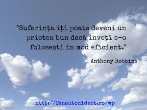 Citat suferinta Anthony Robbins