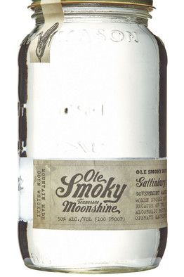 "Ole Smoky Tennessee Moonshine Don't let the fact that it says ""moonshine"" scare you. This mostly corn-based whiskey packs a punch but has a refined, earthy quality. 50% ABV, $35"