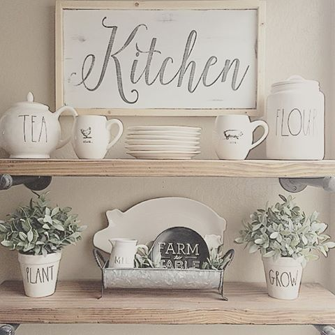 G Vine Decorating Ideas Farmhouse Kitchen on