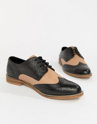 d071eb325a DESIGN Mojito leather brogues in 2019 | Women oxford shoes | Leather ...