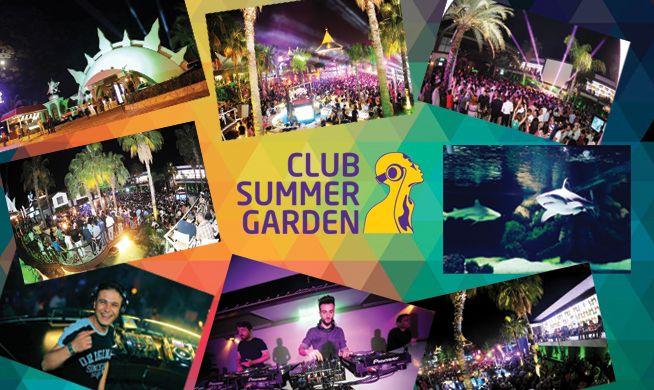 Gitmek için sabırsızlandığım Alanya night club http://www.summer-garden.com/