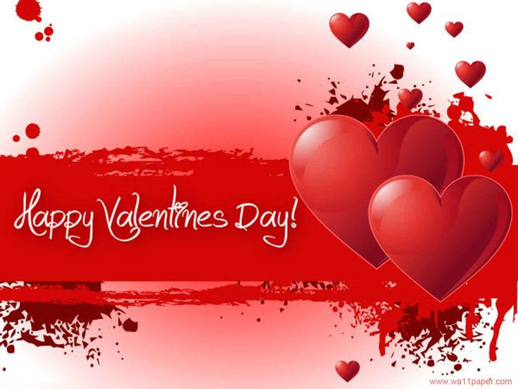 Red Valentines Day Greetings Cards For Facebook HD Wallpaper – Valentines Cards Messages