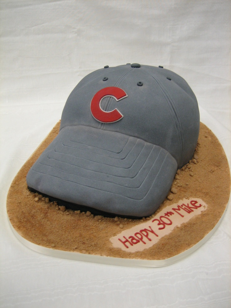 Amy Beck Cake Design Chicago Il Cubs Hat Birthday