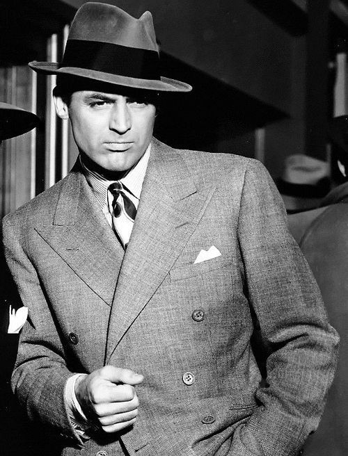 The man has style Cary Grant 1943