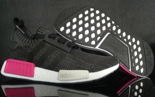 0b13c46478b60 Womens Adidas NMD R1 Primeknit Essential Pink BB2364