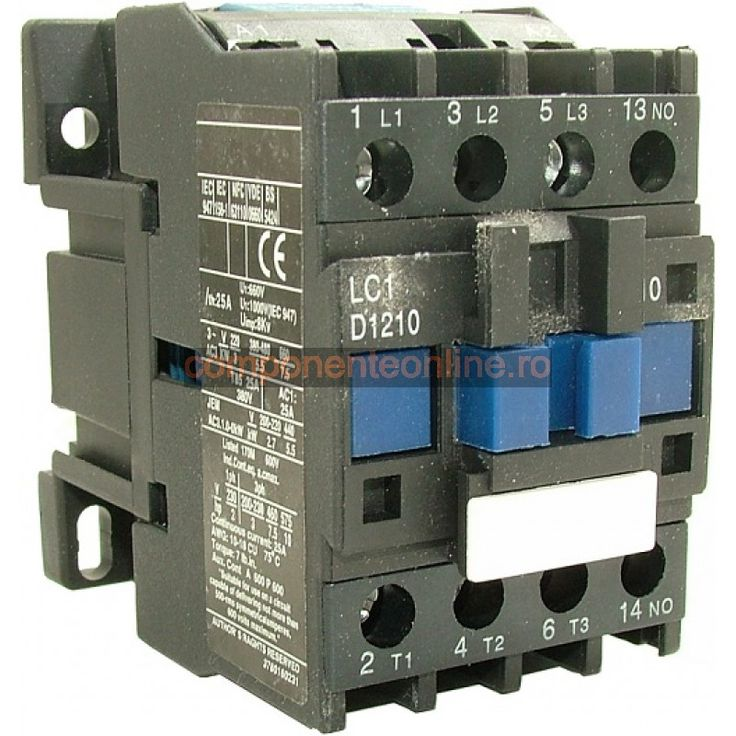 Contactor trifazic, LC1D1210 - 125001