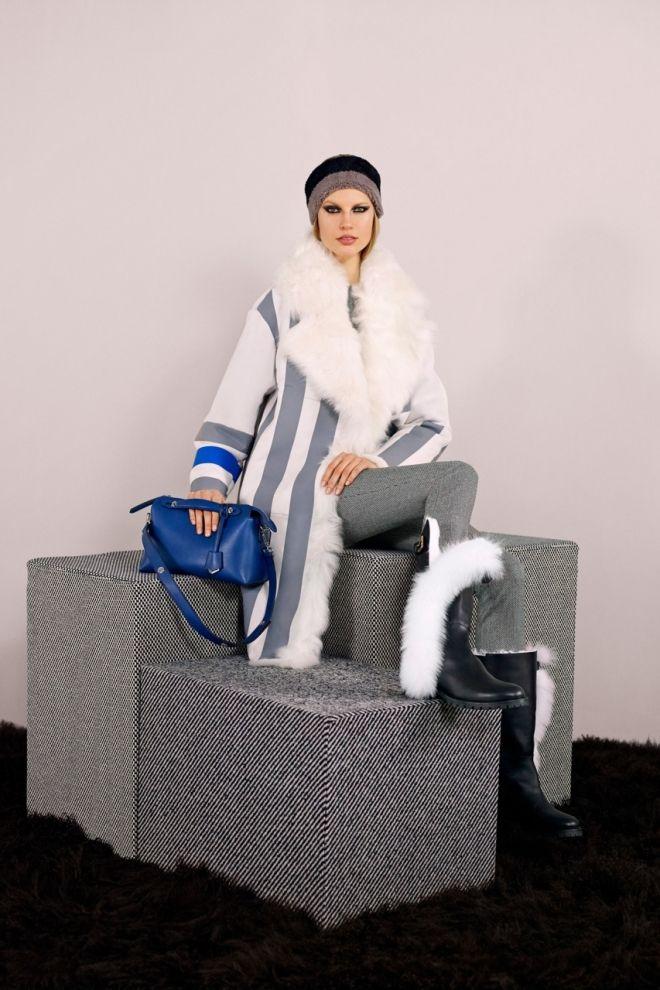Меховые фантазии от модного дома Fendi и Карла Лагерфельда в коллекции pre-fall Fendi 2014 http://glange.net/blog/304.html