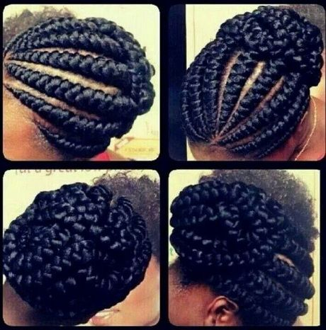 French Goddess Braids | African American French Braid Hairstyles