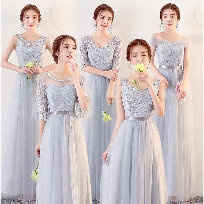 b3ce6286ab63c 羽翼の世界 - ロングドレス 演奏会 Long dress ドレス 二次会 結婚式 ウェディングドレス