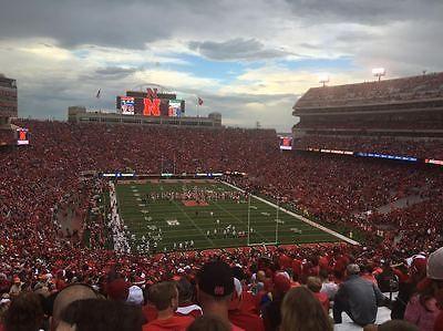 #Tickets Nebraska Huskers vs. Arkansas State Football Tickets (2) + Parking #Tickets