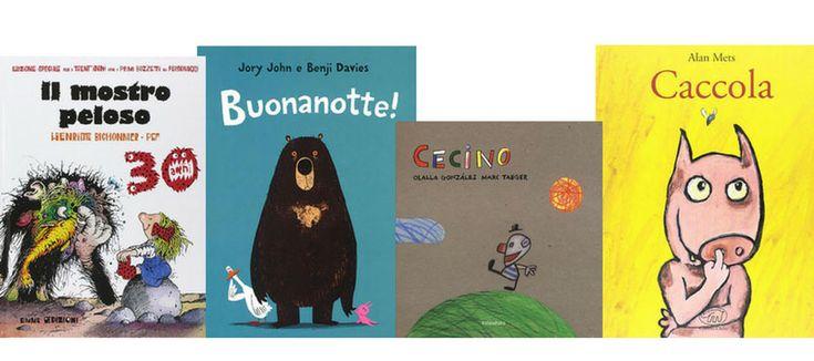 Quattro libri per bambini divertenti e umoristici che io e mio marito scegliamo ogni volta che abbiamo voglia di veder sorridere i bambini.