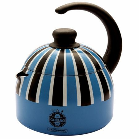 Chaleira do Grêmio Tramontina #gremio #chaleira #chaleiralinda #eusoutricolor #chima #imortal #arena #futebol #torcidamista #gaucho #tricolor #geromel #portoalegre #blue #poa #rs