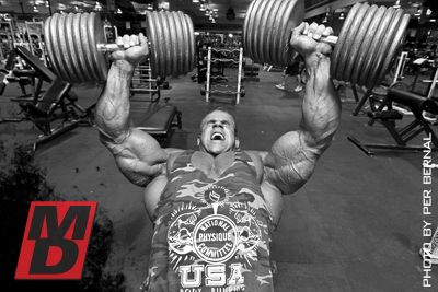 Ifbb pro jay cutler - chest workout with print & go