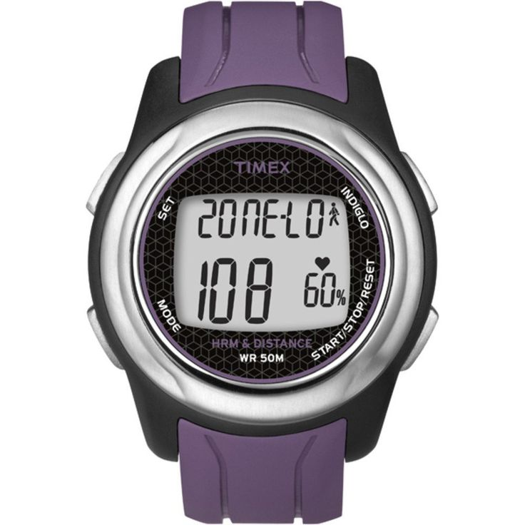 Timex Full-Size T5K561 Health Touch Plus Heart Rate Monitor Watch * For more information, visit image link.