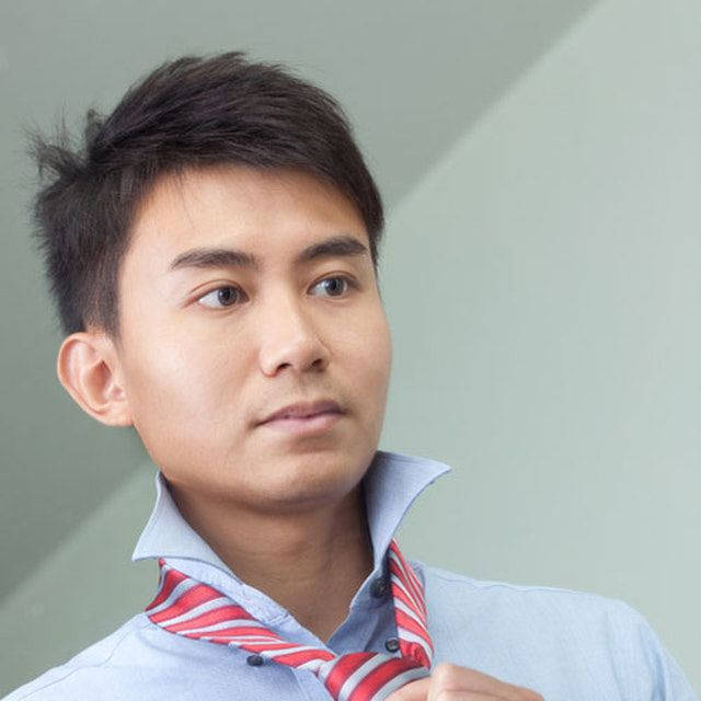 Asian Male Hairstyles: Short Sides, Longer Top
