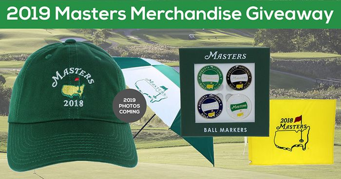6e5f5a0ec 2019 Masters Giveaway!!! Prize: 4-pack of 2019 Masters Ball Markers ...