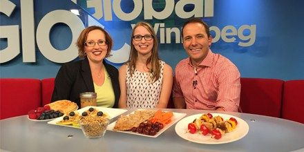 Madelaine Morrish, Registered Dietitian in Winnipeg Manitoba at A Little Nutrition. Watch her Global TV Interview on How to Eat Healthy With Picky Eaters in the home