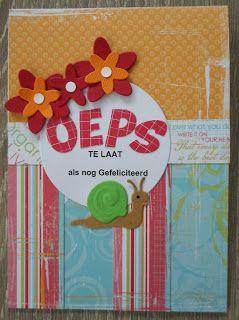 Chantal hobby blog: Oeps