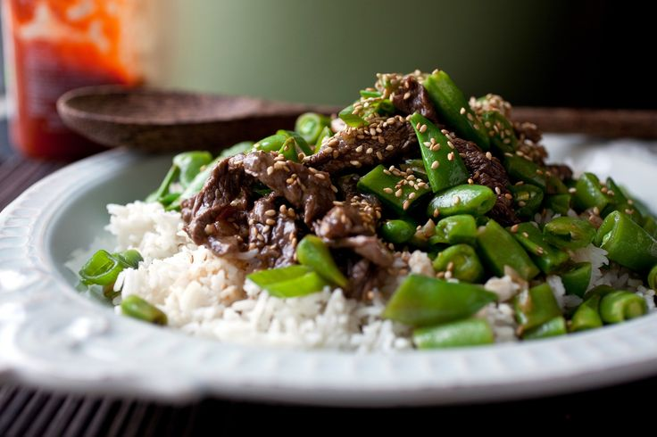 Spicy Stir-Fried Sugar Snap Peas With Soy Sauce, Sesame ...