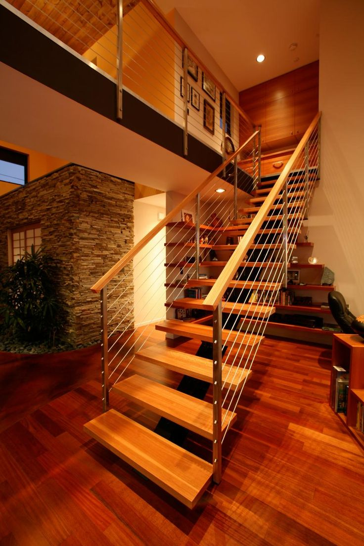 Best 25 cable railing ideas on pinterest cable stair - Interior stair railing contractors ...