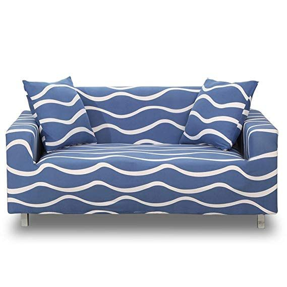 Stretch Sofa Slipcover 1-Piece Polyester Spandex Fabric Couch Cover Chair Loveseat Furniture Protector Covers 1//2//3//4// Seat Sofas Chair, Printed #3