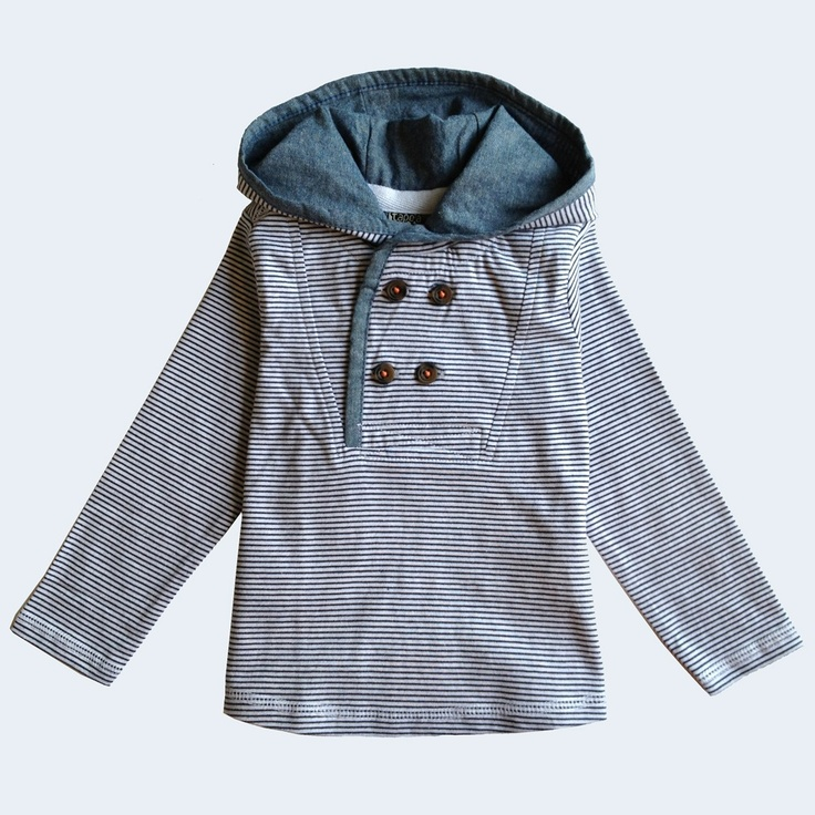 Image of tape à loeil boys hooded pullover