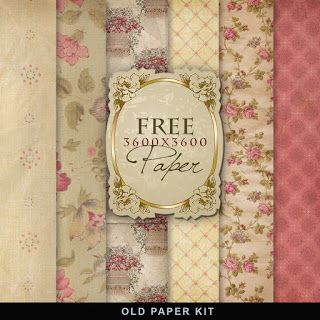 Freebies Vintage Background Kit