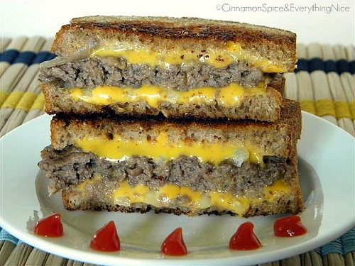 Katie Lee's Award Winning Logan County 'Grilled Cheese' Burger ...