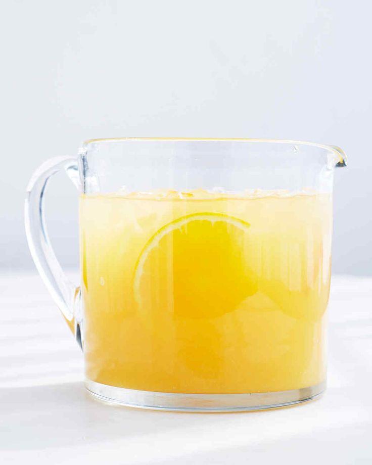 Jasmine Tea and Orange Juice | Martha Stewart Living - The light flavor of jasmine green tea pairs perfectly with OJ.