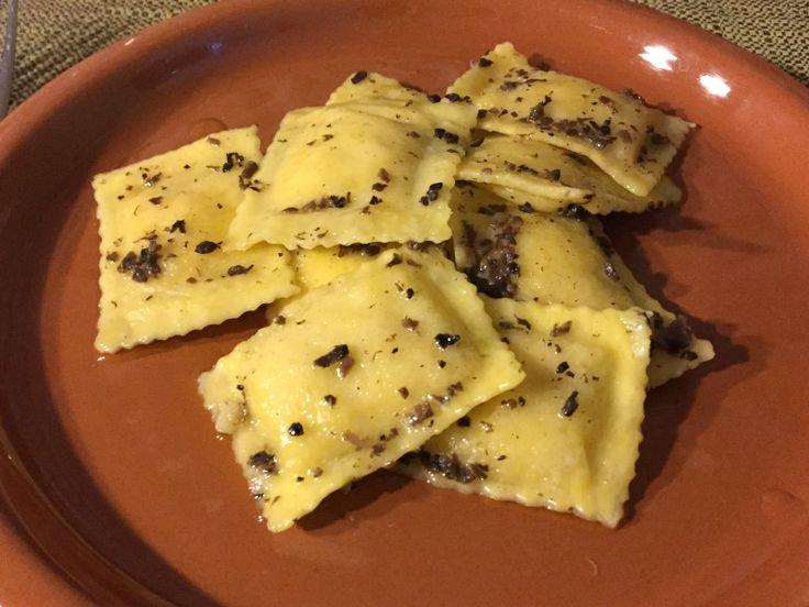 Ravioli with truffles at Masseria Monte Pizzi  - Carovilli, Molise | BrowsingItaly