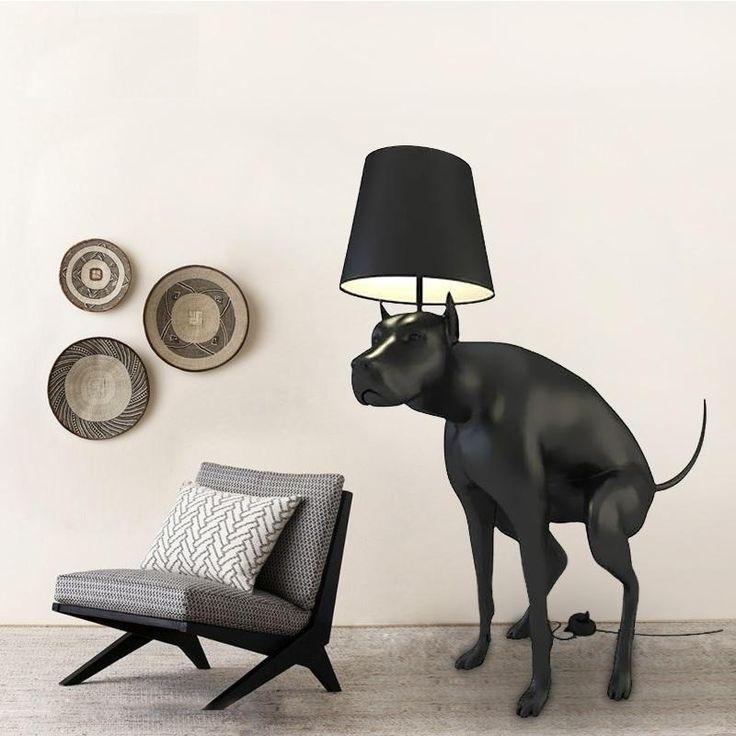 Wallmart.win Life Sized Dog Floor Lamp, 130cm Height Polymer Plastic Dog: Vendor: Wallmart Type: Floor Lamps Price: 1999.99