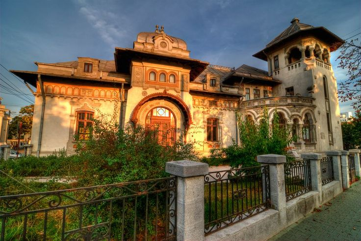 Join buildyful.com - the global place for architecture students.~~Radu Stanian House, Ploiesti, Prahova County, Romania, built in 1850, modified in 1930 by N. Constantinescu Bordeni, former Register Office for Marriages, photo by  Adi Dragnea
