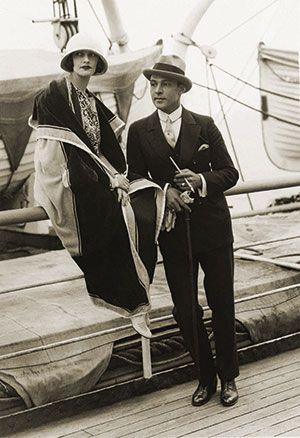 Natacha Rambova and Rudolph Valentino                                                                                                                                                     Plus