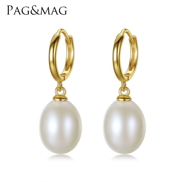 Special offer PAG&MAG Brand 925 Sterling Silver Jewelry Clip on Earrings for Women 10-11mm Rice Pearl Clip Earrings Wholesale Gift Box Free just only $12.02 with free shipping worldwide  #finejewelry Plese click on picture to see our special price for you