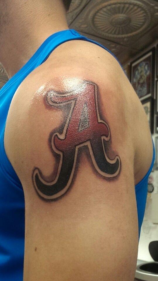 Alabama tattoo roll tide tattoos pinterest alabama for Best tattoo artist in alabama