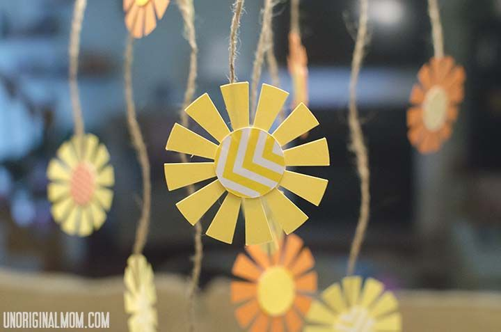 Sunshine Themed First Birthday | of these at the party but i made little hanging sunshines to tie to ...