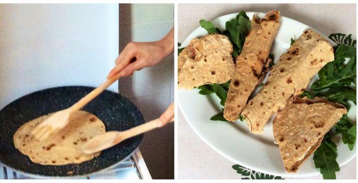 Piadina integrale all'olio di oliva