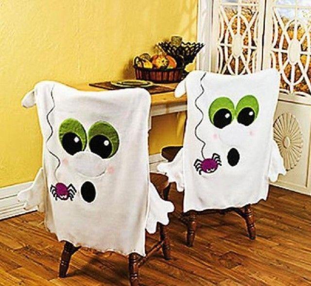 Decora con tus dibujos de Halloween 2015 sillas